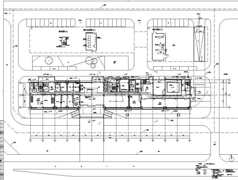 [安徽]某城市质监局建筑施工图设计图_7