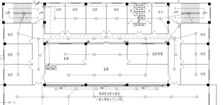 某餐饮中心电气施工图