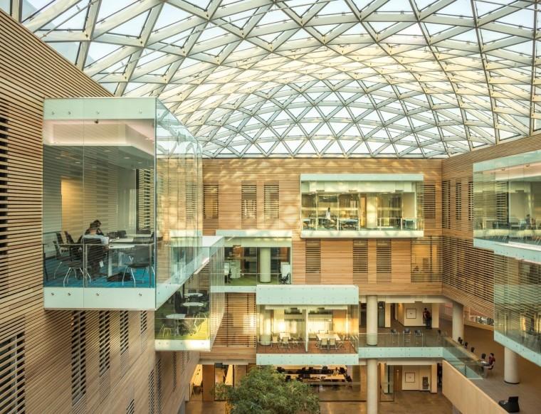 劳里埃大学拉扎里迪斯大楼内部实景图 (13)