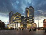 荷兰鹿特丹打造多用途建筑综合体项目