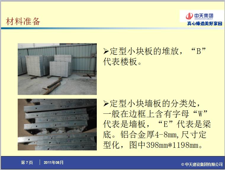 [中天集团]装配式铝模板施工作法