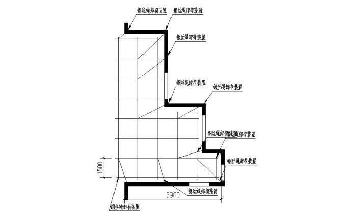 临时办公楼满堂红脚手架专项施工方案_4