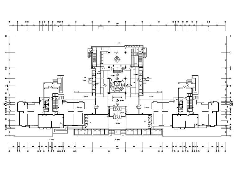 [天津]某大型现代豪奢会所内部装修全套施工图