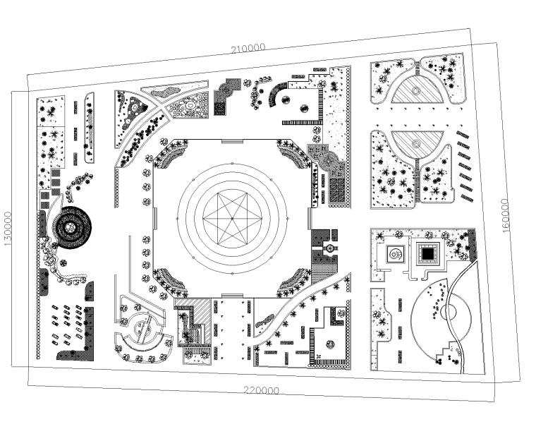 某公园景观规划设计施工图