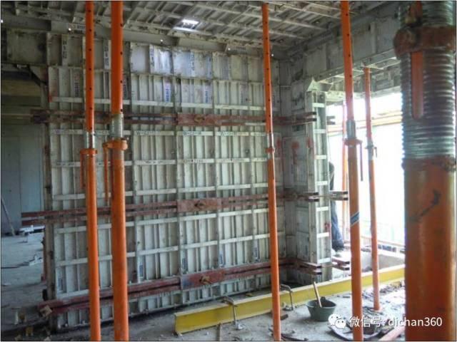 万科工地标准化施工现场示范图片(铝模板的使用篇)