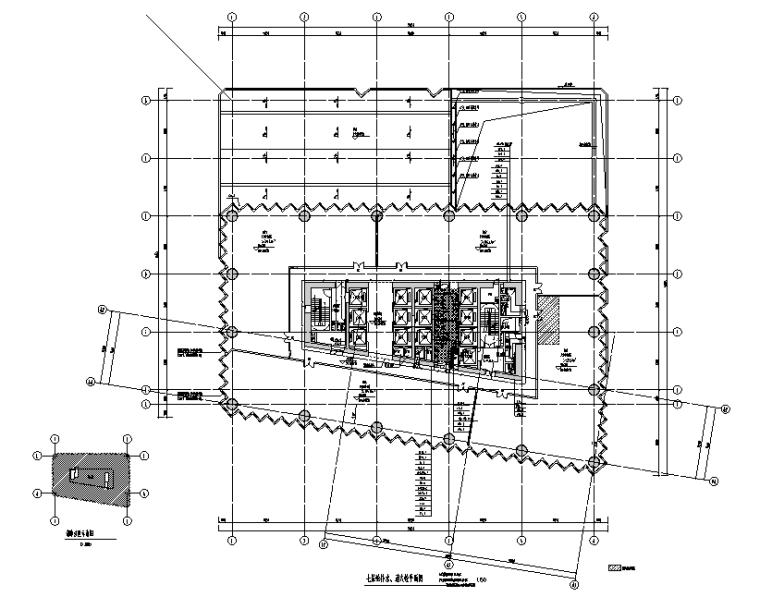 深圳万科商业综合体给排水设计施工图