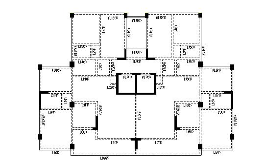 高層框架-剪力墻結構住宅樓結構設計計算書(word,109頁)_1