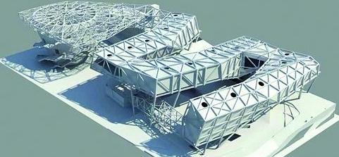 某市五层框架办公楼(建筑结构图+手算计算书)