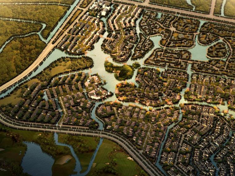 [上海]青浦朱家角生态居住区修建性规划设计方案文本