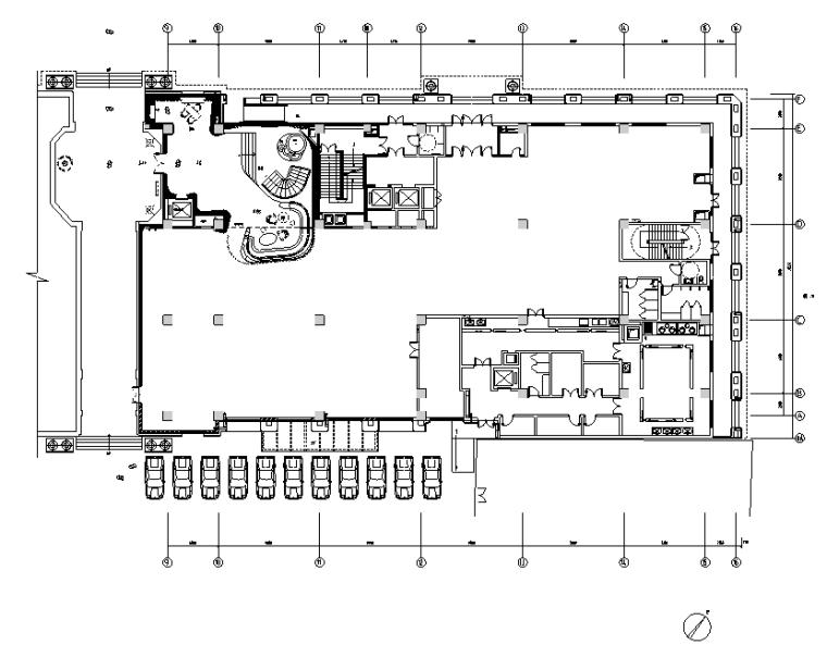 [天津]皇家游艇会餐饮空间设计施工图(附效果图)