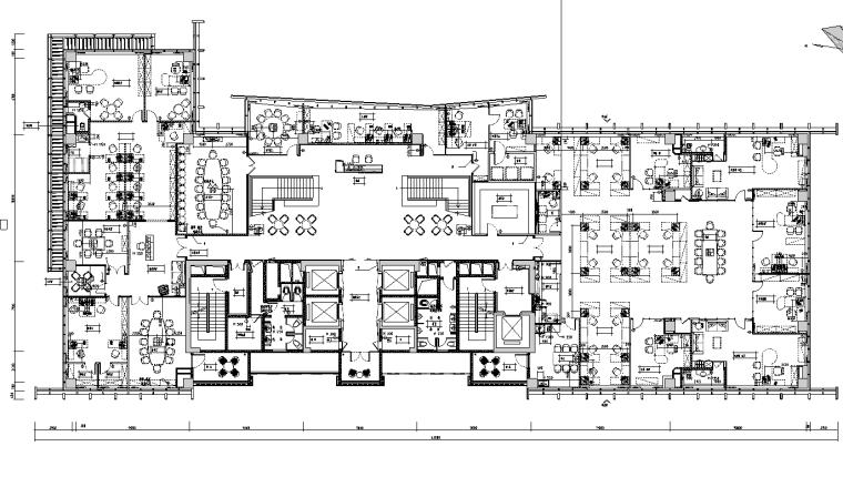 [广州]万骏总部办公楼工装设计施工图