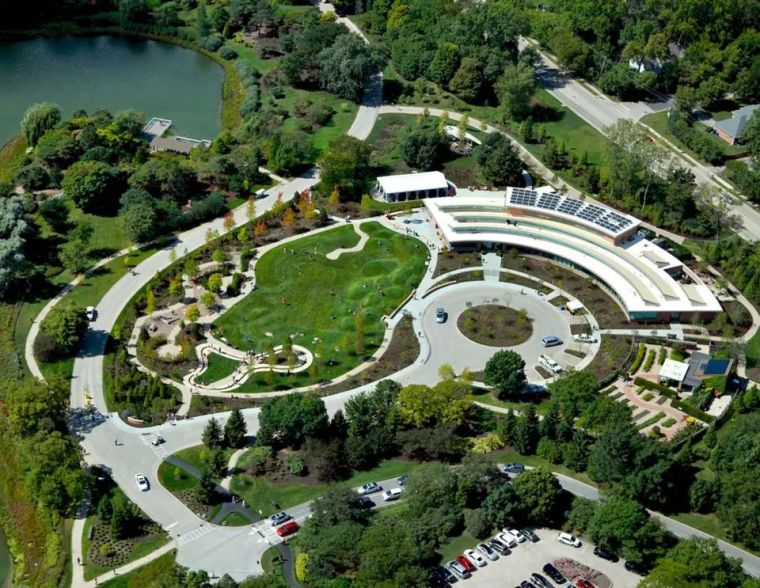 芝加哥植物园之雷根斯坦学园设计!