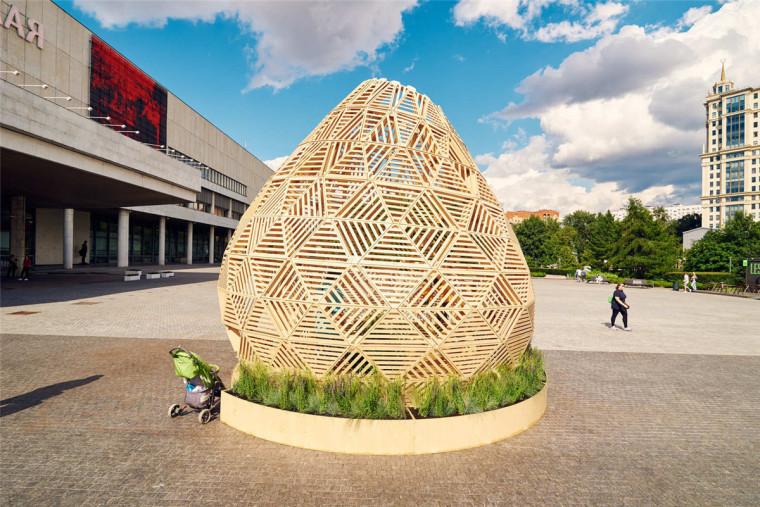 莫斯科木材的Zern亭