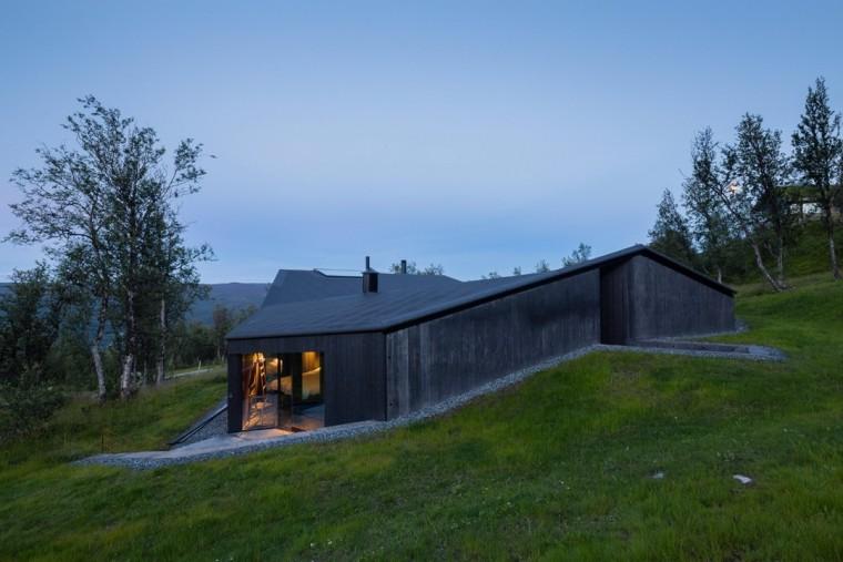 挪威的小木屋