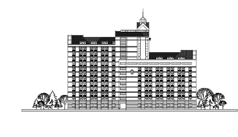 绍兴人民医院规划及建筑方案设计施工图(56张)_3