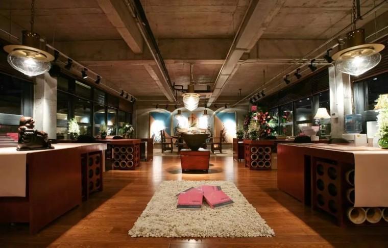 上海现代感的老场坊博览馆