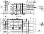 现代多层商业建筑设计方案初设图CAD