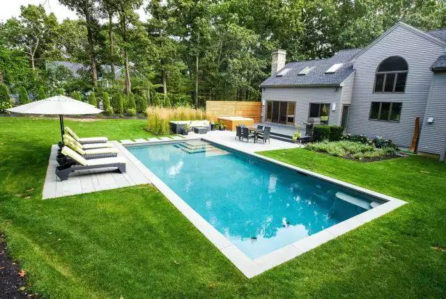 赶紧收藏!21个最美现代风格庭院设计案例_117
