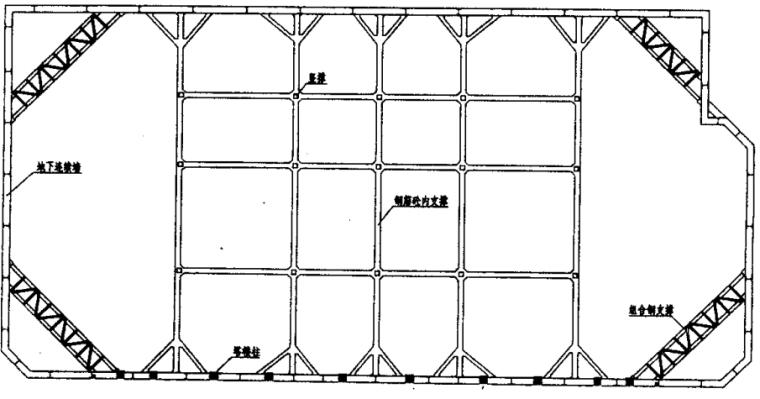 与主体相结合的深基坑支护结构的设计与施工_2