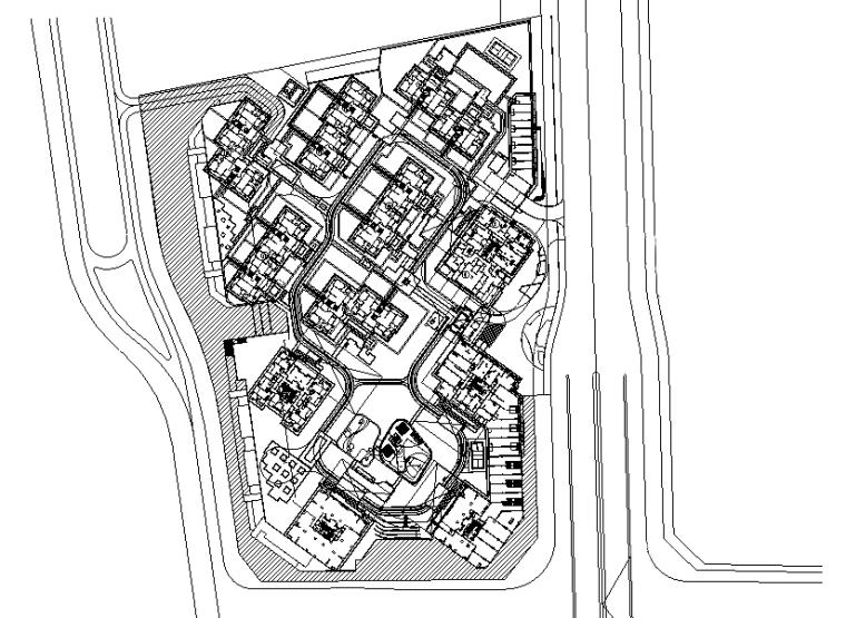 [上海]金域学府翰江(北)景观施工图(蓝图)全套施工图(包含+52个CAD文件)