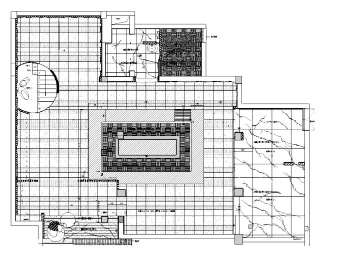 [上海]禾时了日本料理店室内设计施工图