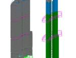 厦门裕景SOHO塔楼带加强层超限高层结构动力弹塑性分析