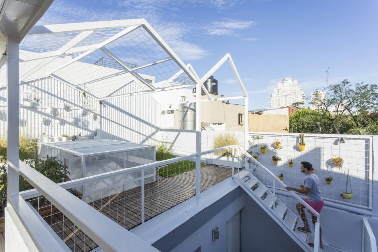 阿根廷传统住宅的Mg露台改造