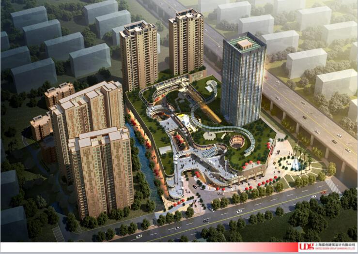 [江苏]万科城市综合体规划设计文本(PPT+55页)