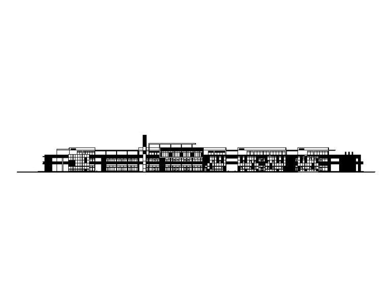 商业街及步行街施工图(25套)