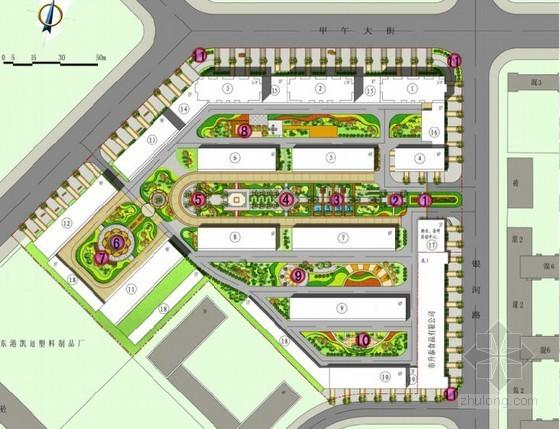 北欧风情居住区景观规划设计方案