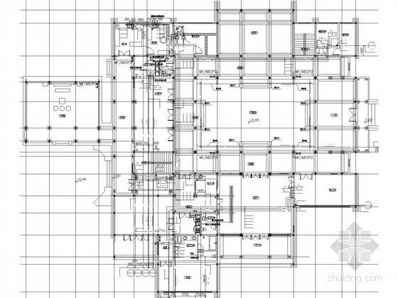 [浙江]禅修院精装修给排水施工图