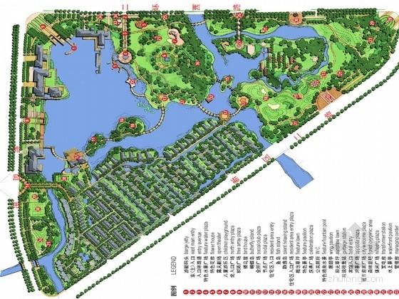 [浙江]滨湖景区住宅及配套公园绿化设计方案