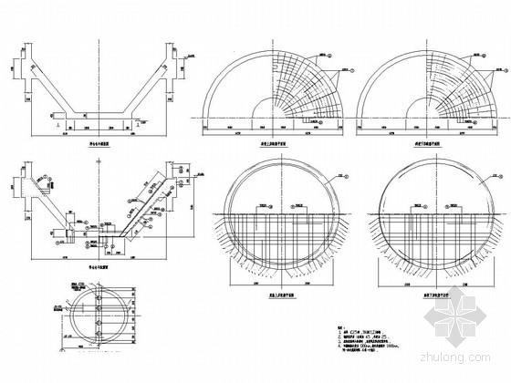 6500T料仓结构施工图