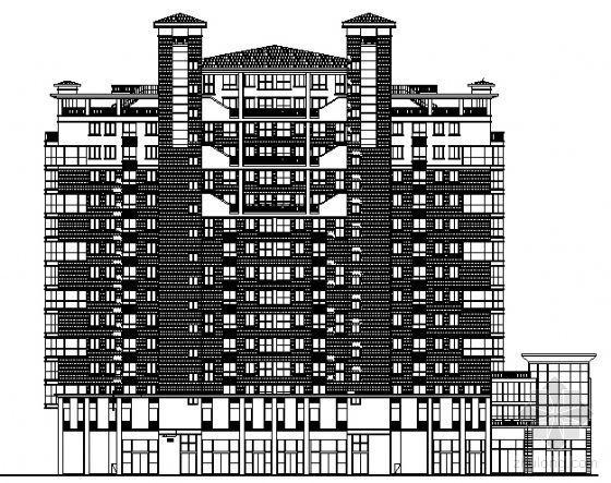 [南通]某十六层框剪结构住宅楼建筑结构施工图