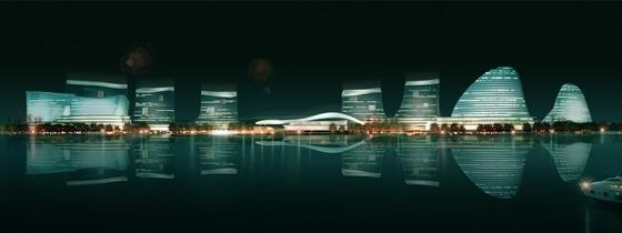 [广东]珠三角地区核心口岸交通枢纽规划设计方案文本-珠三角地区核心口岸交通枢纽规划效果图