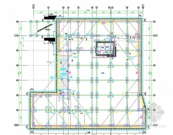 [浙江]排桩加一道混凝土内支撑深基坑支护施工图