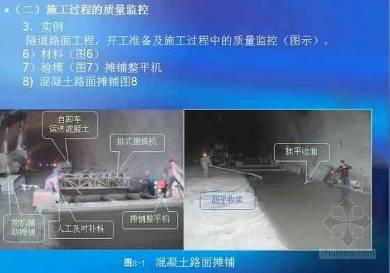 隧道水泥混凝土路面施工质量监理控制要点(图文讲解)