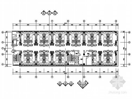 [苏州]社区型中心高档酒店客房装修施工图(含效果)