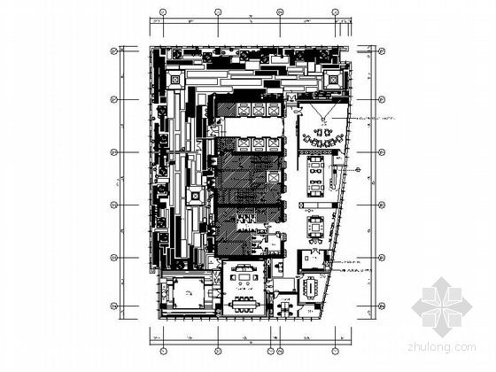 [北京]超美新中式低调气质会所装修施工图(含效果图)