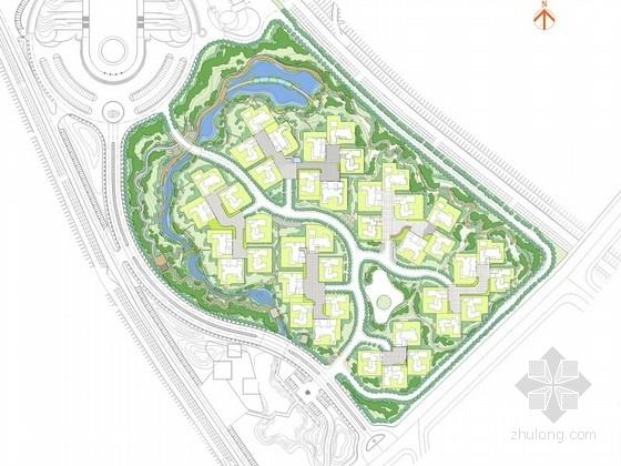 [陕西]高级别墅景观设计概念方案