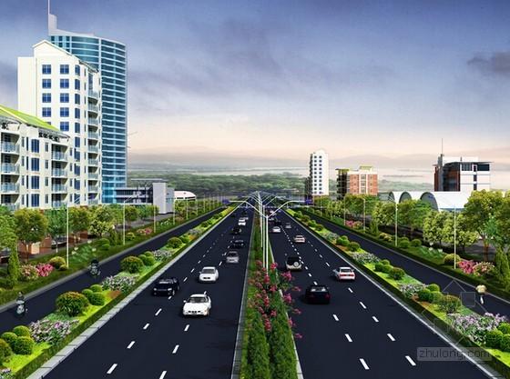 [四川]市政道路工程清单控制价及招标文件(含施工图纸)