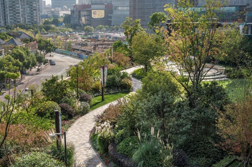 上海TODTOWN天荟悦麓示范区景观-7