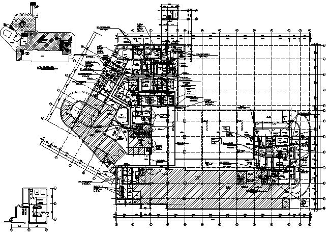 长沙市中心医院医疗综合楼建筑电气施工图_5