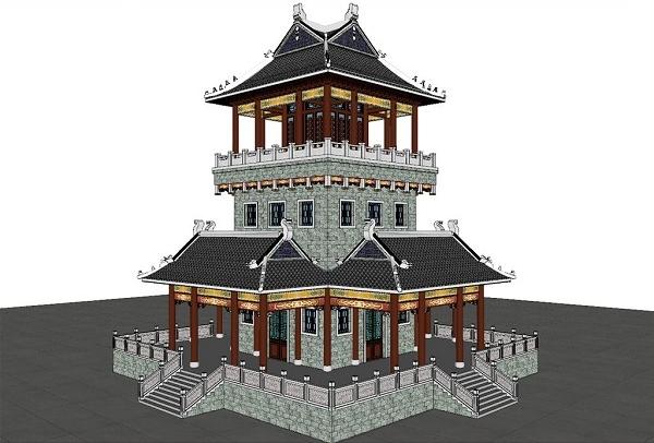 浅谈古建筑模型制作过程