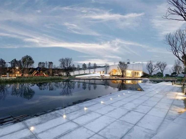 西安万科理想城示范区景观