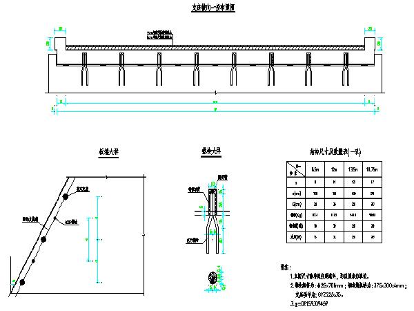 现浇钢筋混凝土简支板桥涵通用图(94张)