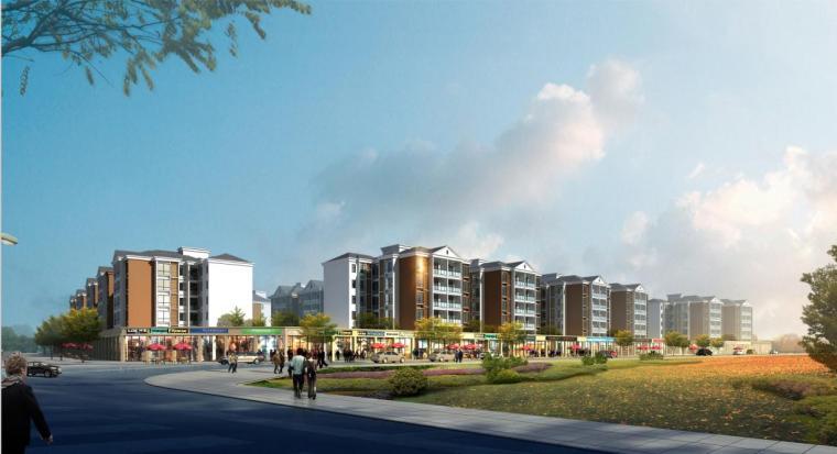 [重庆]多层现代简约中式住宅建筑设计方案文本(含CAD)