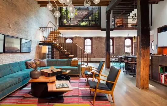 建筑改造之纽约时尚loft公寓-建筑方案-筑龙建筑设计图片