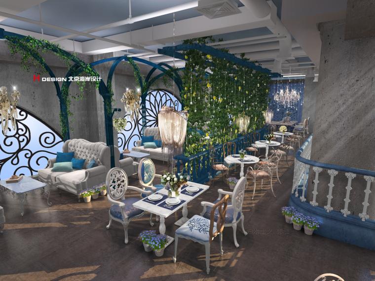 咖啡厅设计公司推荐-海岸咖啡厅设计_3