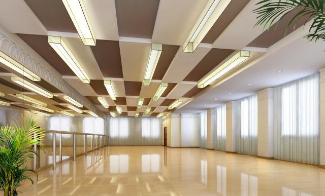 三层舞蹈(音乐)排练厅_副本-钢花影剧院设计方案第9张图片